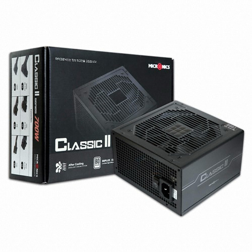 [마이크로닉스] Classic II 700W +12V Single Rail 85+(벌크)